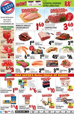 Karns deals in the Harrisburg PA weekly ad