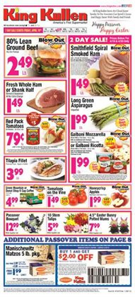 King Kullen deals in the Huntington Station NY weekly ad
