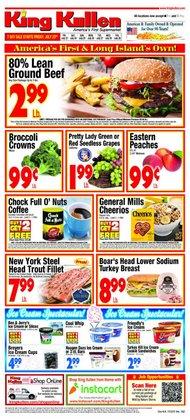 King Kullen deals in the King Kullen catalog ( 2 days left)