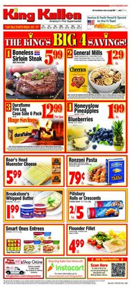 Grocery & Drug deals in the King Kullen catalog ( Published today)