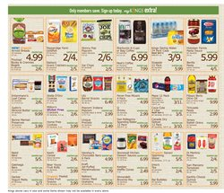 Cereals deals in the Kings Food Markets weekly ad in New York