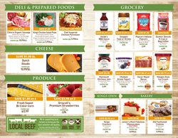 Donuts deals in the Kings Food Markets weekly ad in New York