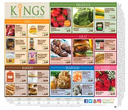 Roses deals in the Kings Food Markets weekly ad in New York