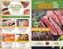 Chicken thighs deals in the Kings Food Markets weekly ad in New York