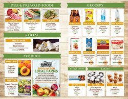 Milk deals in the Kings Food Markets weekly ad in New York
