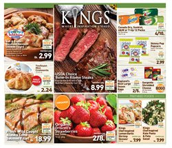 Popcorn deals in the Kings Food Markets weekly ad in New York