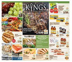 Matches deals in the Kings Food Markets weekly ad in New York