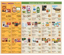 Halloween deals in the Kings Food Markets weekly ad in New York