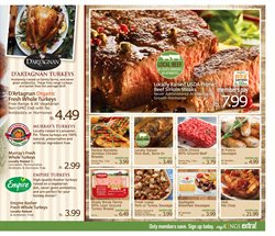 Chicken deals in the Kings Food Markets weekly ad in White Plains NY