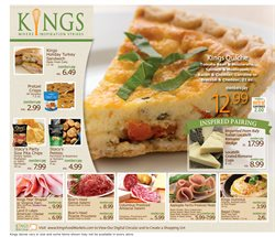 Sandwiches deals in the Kings Food Markets weekly ad in New York