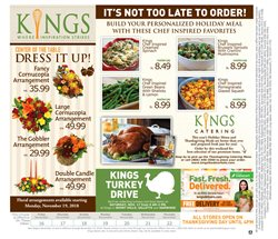 Dress deals in the Kings Food Markets weekly ad in New York