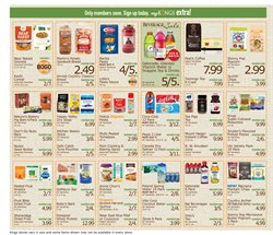 Microwave deals in the Kings Food Markets weekly ad in New York