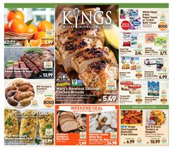 Kings Food Markets deals in the Hoboken NJ weekly ad