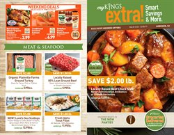 Red wine deals in the Kings Food Markets weekly ad in New York