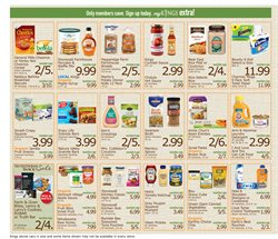 Hair conditioner deals in the Kings Food Markets weekly ad in New York