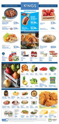 Kings Food Markets deals in the Chatham NJ weekly ad