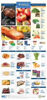 Kings Food Markets catalogue ( 2 days left )