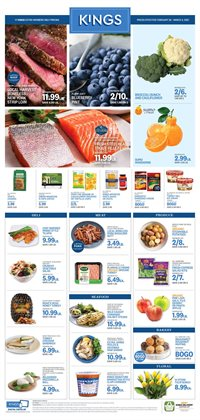 Grocery & Drug offers in the Kings Food Markets catalogue ( Expires tomorrow )