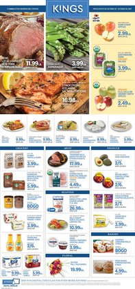 Kings Food Markets deals in the Kings Food Markets catalog ( 3 days left)