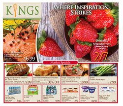 Grocery & Drug deals in the Kings Food Markets weekly ad in New York