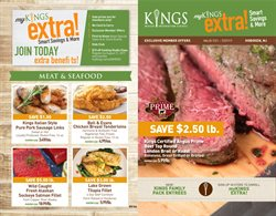Sales deals in the Kings Food Markets weekly ad in New York