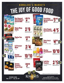 Kowalski's deals in the Minneapolis MN weekly ad