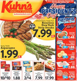 Kuhn's Market deals in the Pittsburgh PA weekly ad