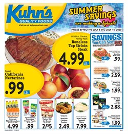 Grocery & Drug offers in the Kuhn's Market catalogue in Pittsburgh PA ( 2 days ago )