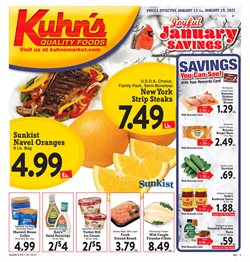 Grocery & Drug offers in the Kuhn's Market catalogue in Pittsburgh PA ( 2 days left )