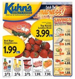 Kuhn's Market catalogue ( Expired )