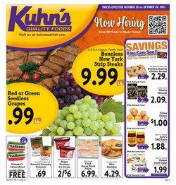 Kuhn's Market catalog ( 1 day ago)