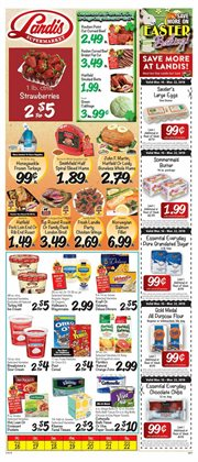 Landis Supermarkets deals in the Perkasie PA weekly ad