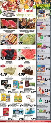 Landis Supermarkets deals in the Landis Supermarkets catalog ( Expires today)
