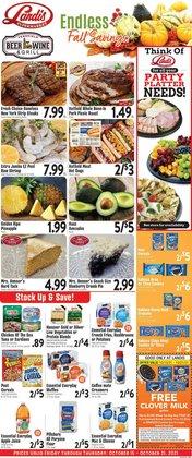 Landis Supermarkets deals in the Landis Supermarkets catalog ( 4 days left)
