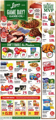 Lowes Foods deals in the Cary NC weekly ad