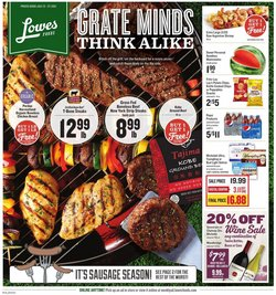 Grocery & Drug deals in the Lowes Foods catalog ( Expires today)