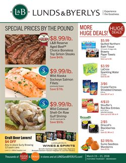 Lunds & Byerlys deals in the Saint Cloud MN weekly ad