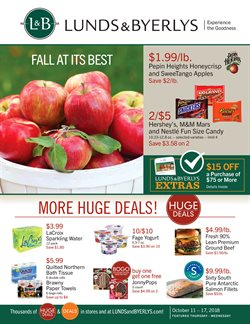 Grocery & Drug deals in the Lunds & Byerlys weekly ad in Minneapolis MN