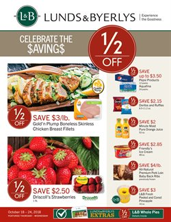 Lunds & Byerlys deals in the Minneapolis MN weekly ad