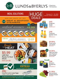 Lunds & Byerlys catalogue ( 3 days left )