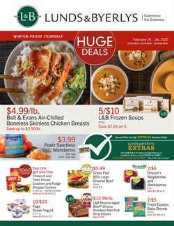 Lunds & Byerlys catalogue ( Expires today )