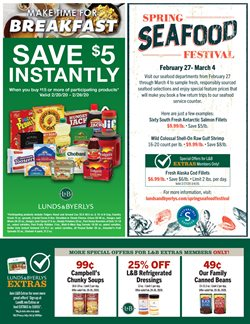 Lunds & Byerlys catalogue ( 7 days left )