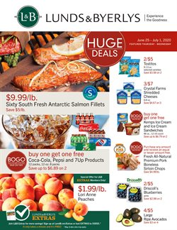 Lunds & Byerlys catalogue ( 2 days left )