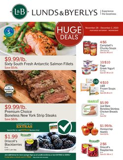 Lunds & Byerlys catalogue ( Expires tomorrow )