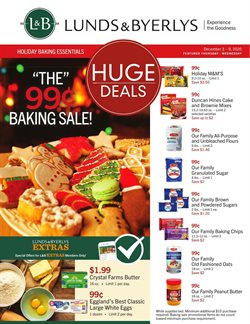 Lunds & Byerlys catalogue ( 2 days ago )
