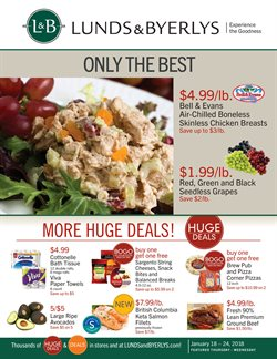 Lunds & Byerlys deals in the Saint Paul MN weekly ad