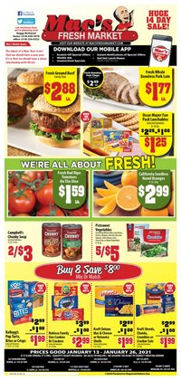 Grocery & Drug offers in the Mac's Market catalogue in Ridgeland MS ( 4 days left )