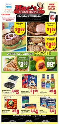 Grocery & Drug deals in the Mac's Market catalog ( Published today)