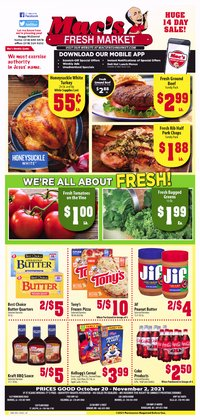 Mac's Market deals in the Mac's Market catalog ( 1 day ago)
