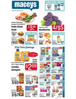 Maceys deals in the Salt Lake City UT weekly ad